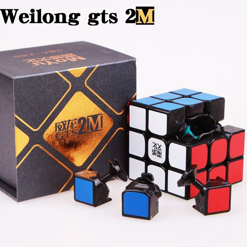 MOYU Weilong GTS 2M 3x3 Magnetic Speed Cube GTS 3M Professional Stickerless Puzzle Moyu Cube gts2m Magnets Neo Cubo Magico GTS3