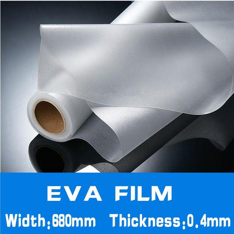 5 Meter x breite 680mm dicke 0,4mm EVA FILM für Sonnen Verkapselung DIY solarzellenplatten Laminierung