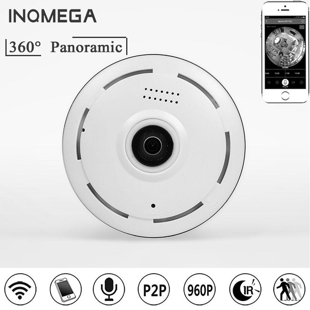 INQMEGA Ip Caméra 360 Degrés Panoramique 1.3MP 960 P Fisheye WiFi Caméra Réseau Caméra de Sécurité À Domicile CCTV Caméra Night Vision P2P