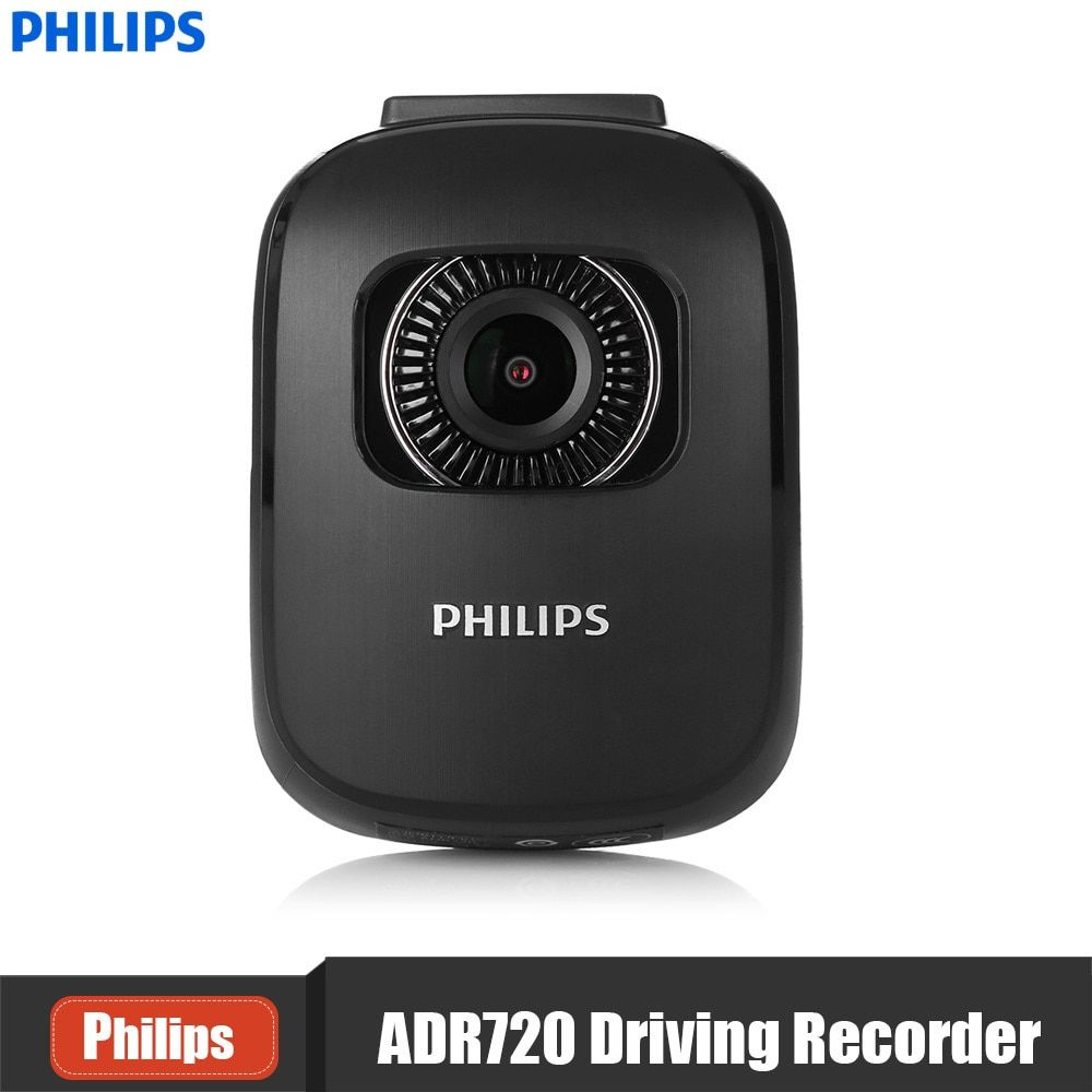PHILIPS ADR720 2 Inch 1440P Car Dash Cam Recorder 140 Degree Wide Angel DVR Support G-Sensor Night Vision