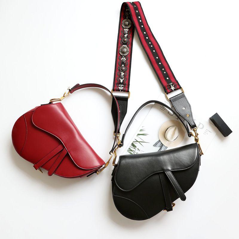 Einzigartige stil luxus designer designer frauen leder handtaschen hohe qualität sterne laufsteg flip sattel awomen messenger taschen