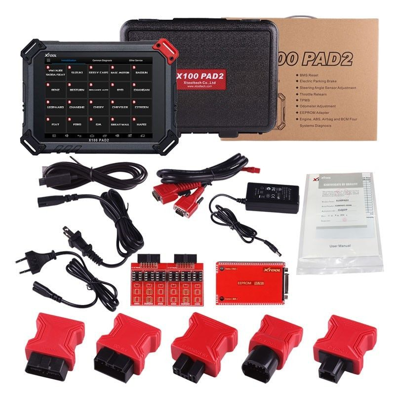 New arrival Original XTOOL X100 PAD2 x100 pad Better than X300 Pro3 Auto Key Programmer with Free Update Online