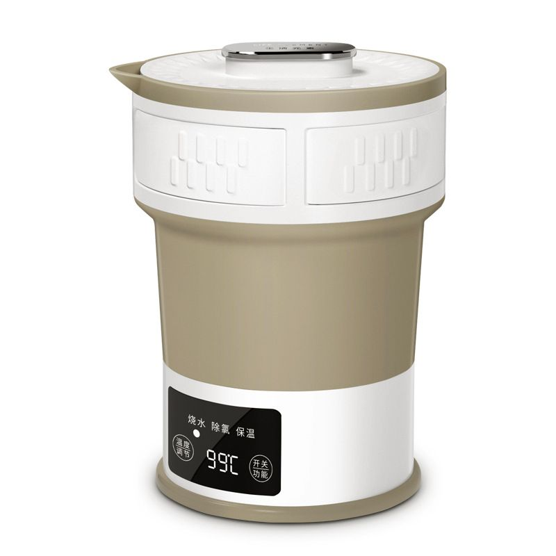 Leben elemente I25 folding wasserkocher, kompression typ elektrische wasserkocher, reisen tragbare wasserkocher, mini thermos wasserkocher.