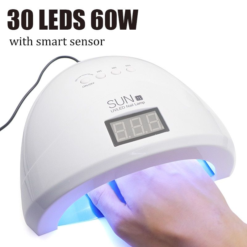 Nails UV Nail Dryer Lamp UVLED 48W SUNONE1s Manicure UV Lamp For Manicure Gel Varnish Drying For Nail Gel Polish Curing