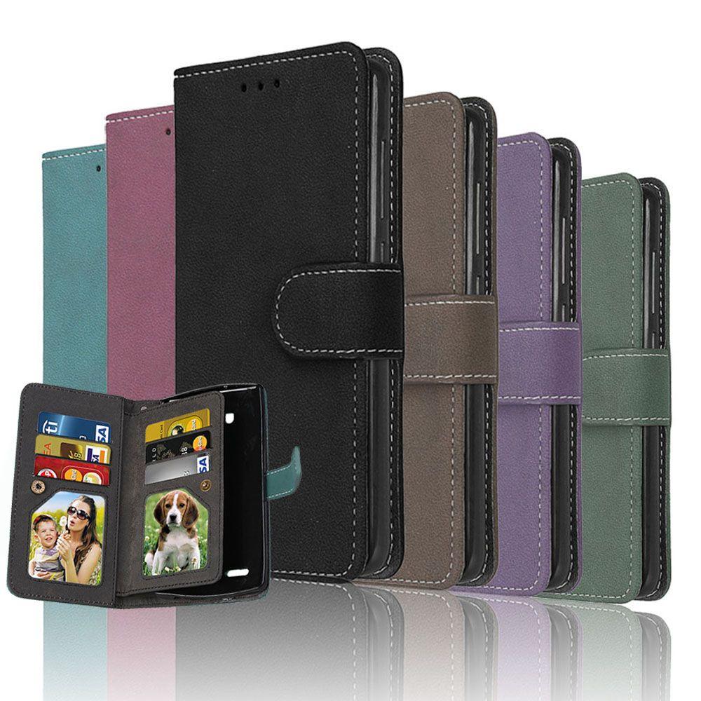 Portefeuille Flip Cas Pour Motorola Moto G4 Plus G 4 En Cuir Retour couverture Fundas Pour Motorola Moto G4 Plus Mobile Téléphone Sacs Cas Coque