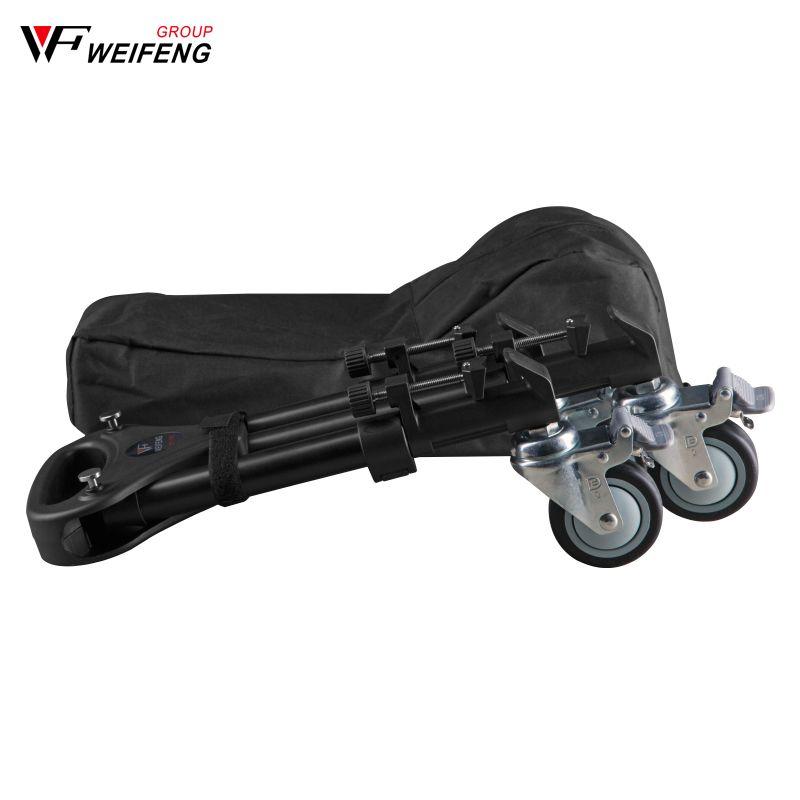 Weifeng WT-700 trois piédestal poulie rouleau trépied jambes caméra photographie roulettes trépied jambes roue roulement 30 kg