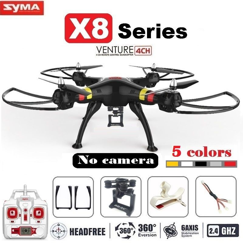 Syma X8 X8C X8W FPV RC Drone Quadcopter Without Camera Professional Dron With Holder For <font><b>Gopro</b></font>/SJCAM/Xiaoyi/Eken Action Camera