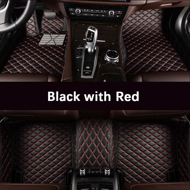 Tapis de sol de voiture sur mesure pour Volkswagen tous les modèles vw passat b5 6 polo golf tiguan jetta touran touareg tapis de sol auto