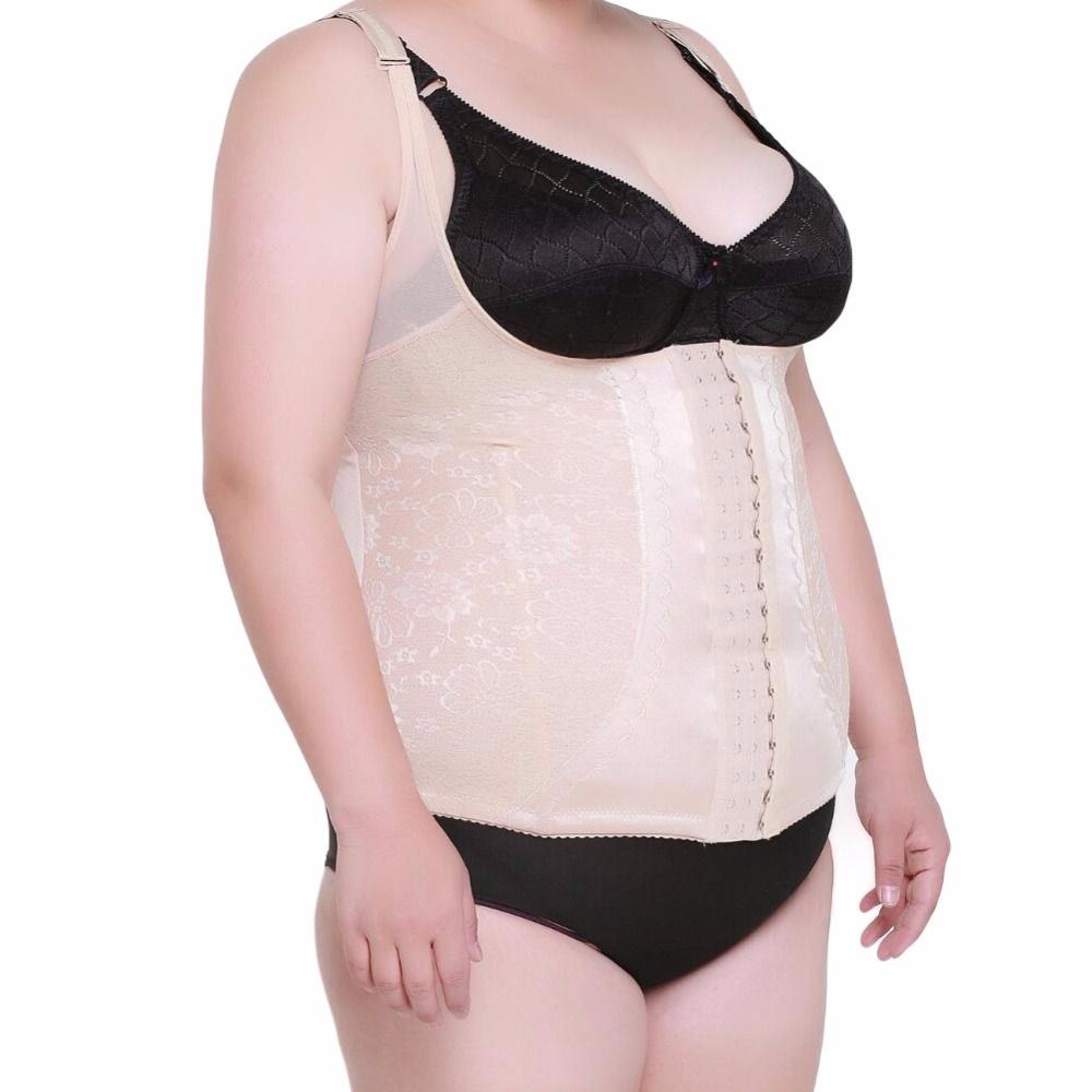 Large Plus Size Women Belly Band slimming Corrective Underwear Shaper Vest Waist Belt Corset Cincher Girdle Forma Shapewear