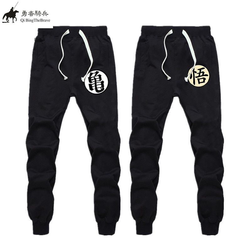 Plus Size Clothing Anime Dragon Ball Z GOKU Sweatpants Men Brand Casual Exercise Trousers Pants Men Cotton Elastic Pants 021208