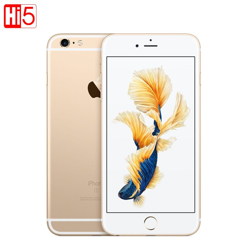Entsperrt Apple iPhone 6 s plus 2 gb RAM 16 gb/64 gb ROM 5,5 display 12.0MP iOS LTE fingerprint Einzelne sim Dual Core smartmobile
