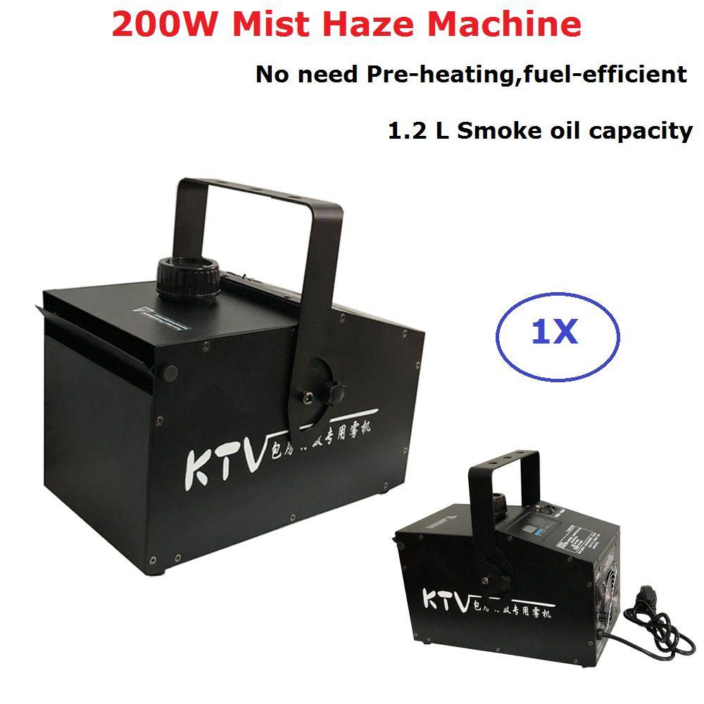 200 watt Nebel Dunst Maschine 1.2L Nebel Maschine DMX512 Bühne Rauch Maschine Professionelle Dj Bar Party Zeigt Lichter Ausrüstungen LED fogger