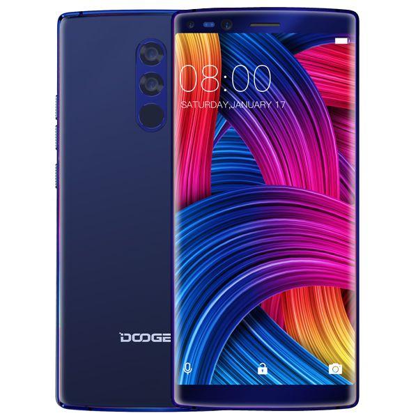 DOOGEE Mix 2 Android 7.1 4060mAh 5.99'' FHD+ Helio P25 Octa Core Smartphones Quad Camera 16.0+13.0MP 6GB RAM 64GB ROM