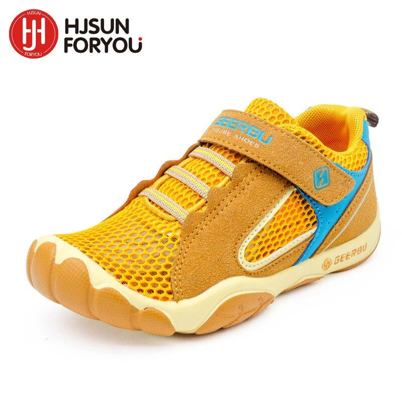 Hot Sale 2019 Summer Mesh Children sneakers cowhide leather child casual shoes fashion sport shoes boys girls running shoes