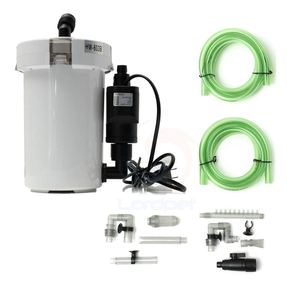 Sip from SP Sunsun aquarium filter with pump Purifier ultra-quiet fish tank canister filter Sponge external bucket HW602B/HW603B