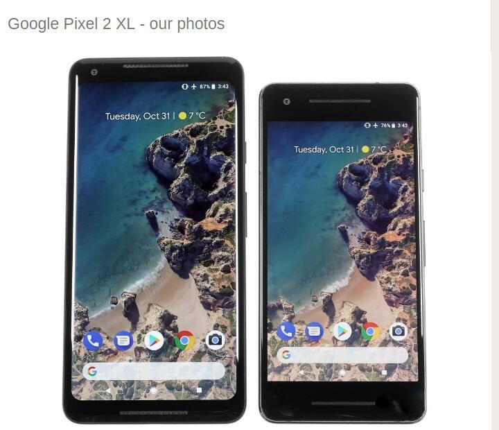 Original Entsperrt EU version Google Pixel 2 XL 4G LTE 6,0 inch Handy Octa Core 4GB RAM 64 GB/128 GB ROM 1440x2880 Smartphone