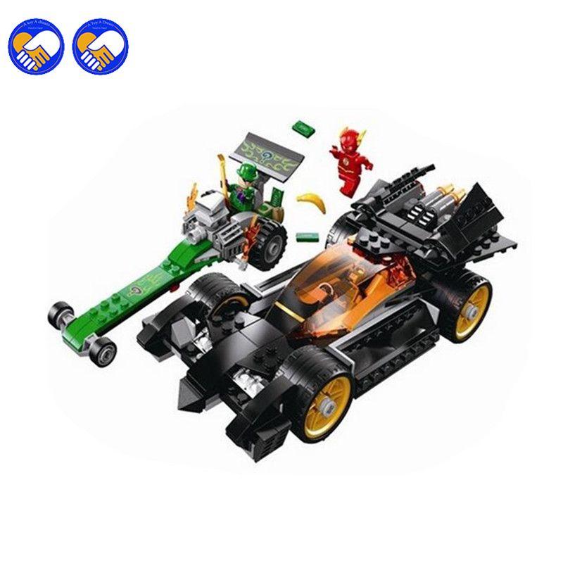 Un jouet Un rêve Batman Bela 10227 DC Comics The Riddler Chase Le Flash Super Héros BRICOLAGE Blocs de Construction Legoingly