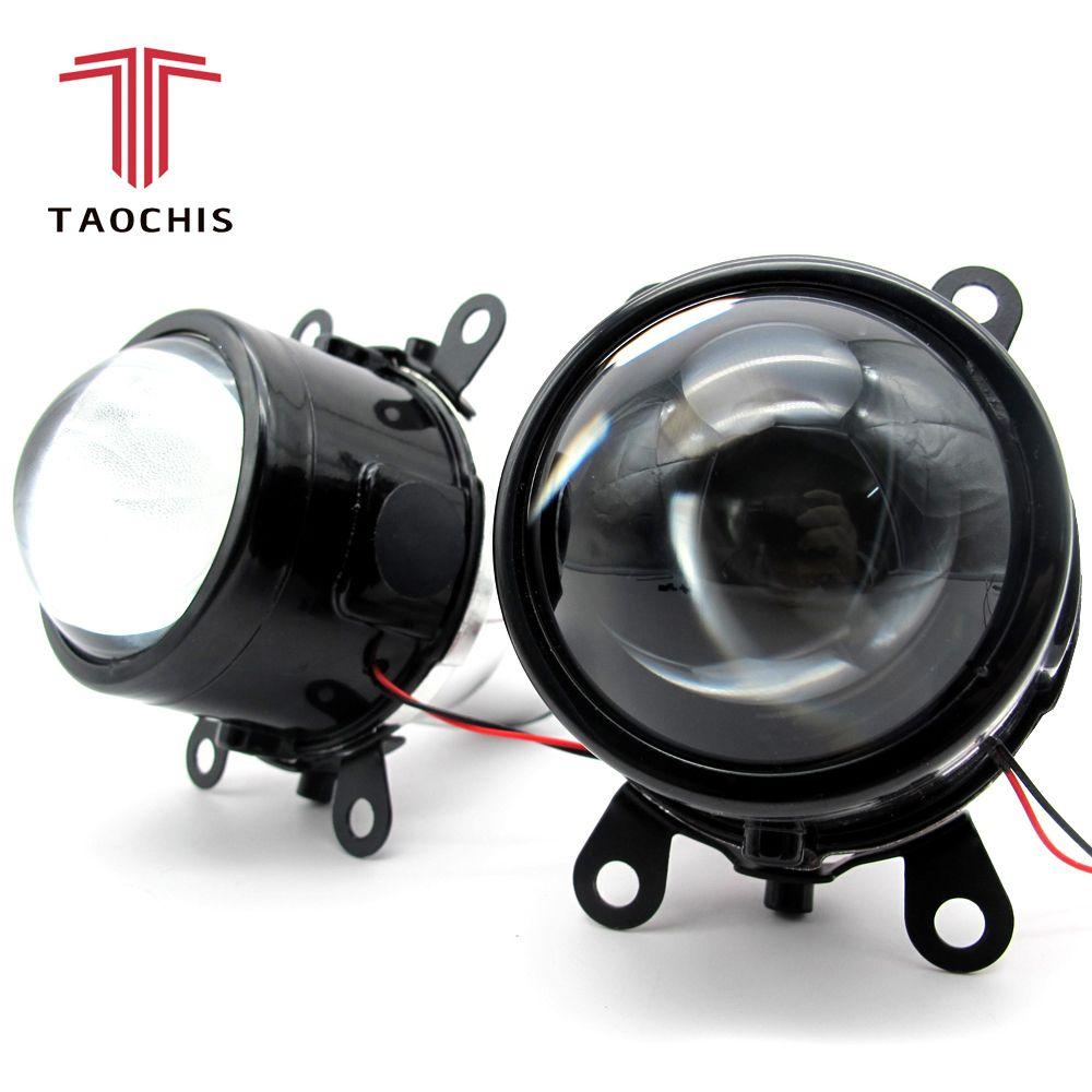 TAOCHIS M6 2.5 inch Bi-Xenon HID Auto Car-Styling Fog Light Projector Lens Hi/Lo Universal Fog <font><b>Lamp</b></font> Car Retrofit H11 Bulbs