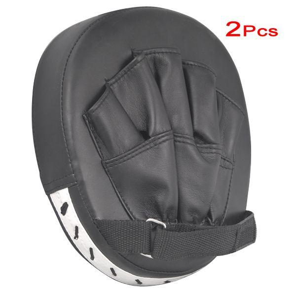 JHO-2x fokus pads haken jab handschuhe boxhandschuhe sparring boxsack ausbildung paar MMA