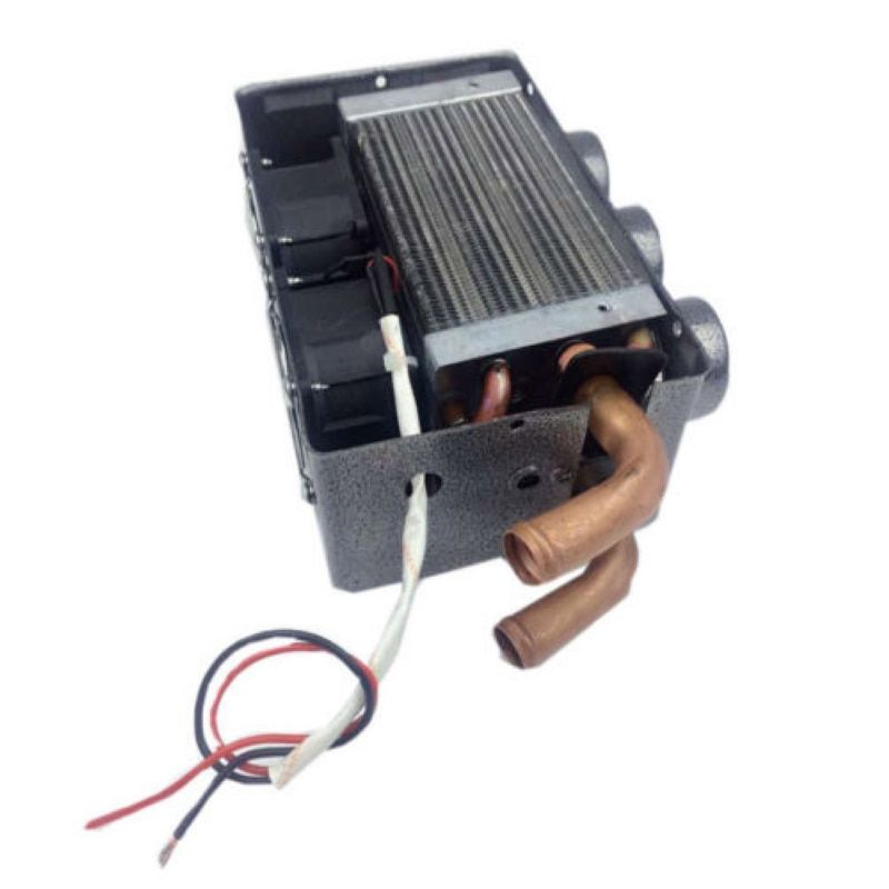 High Quality 12V 24W Portable Compact 3 Hole Car Heating Heater Defroster Demister Real-time heating