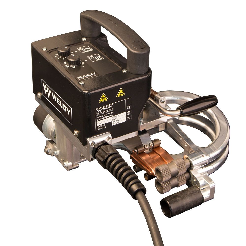 SWISS WELDY  GEO2 Wedge Mini Welder WELDING MACHINE for Welding Geomemberance  Overlap width:100mm