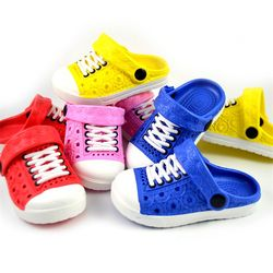 Unisex Children Beach Slippers Kids Unisex Baby Boys Clogs Shoes Girls Sandals Garden Slippers Drag For 1-5 Years LA986168