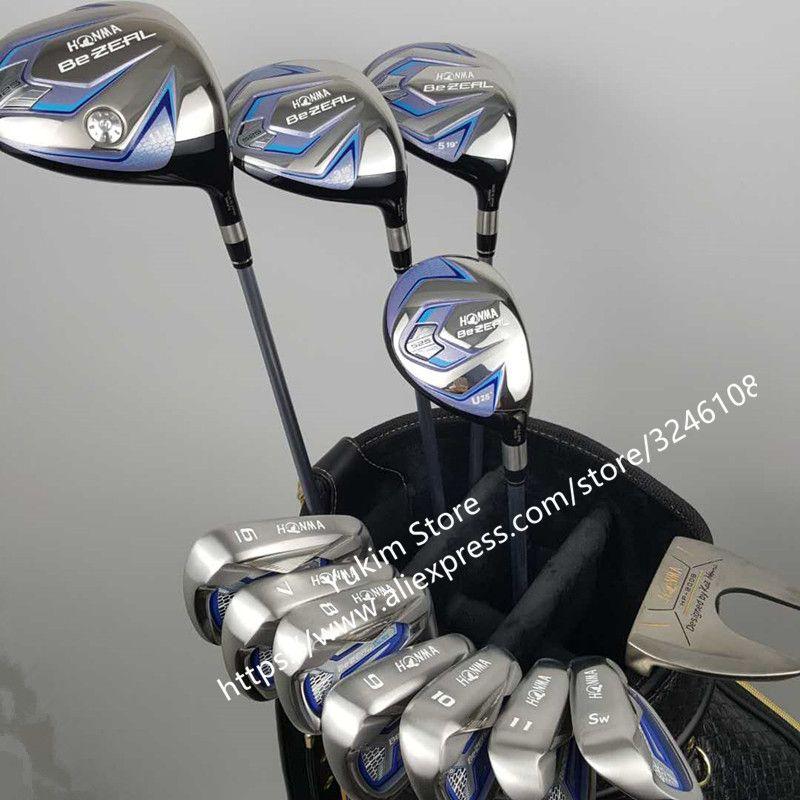 touredge Golf irons HONMA BEZEAL 525 Golf clubs with Graphite Golf shaft R or S flex No bag Free shipping