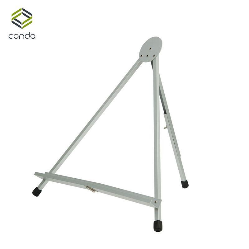 Chevalet Conda pour peinture chevalet de Table pliable affichage Portable Mini chevalets en aluminium support croquis pour affichage de bureau d'artiste