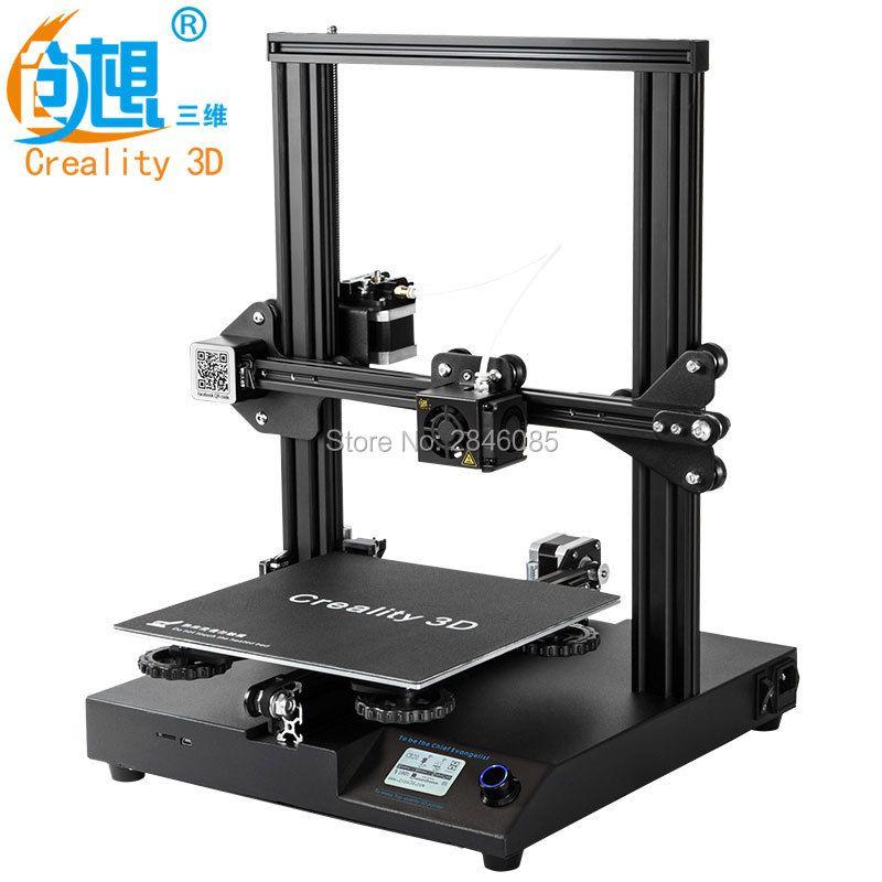 Creality CR-20 3D Printer Resume Print MK-10 Extruder 220X220X250mm V2.1 Upgrade