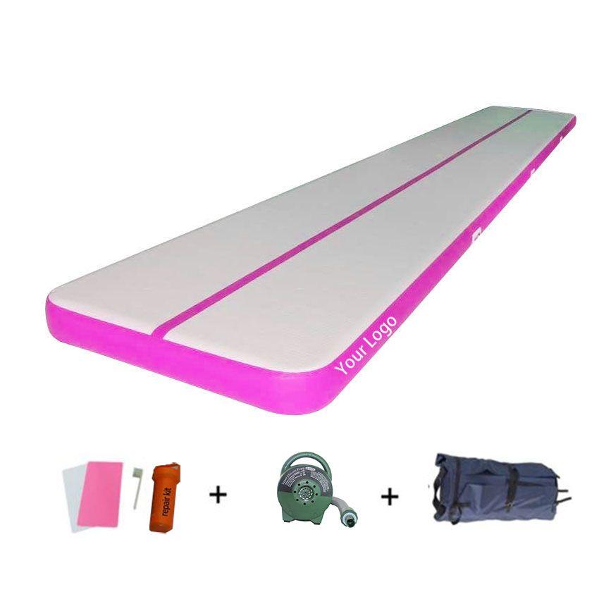 12m x 2m Air Track Tumbling Matte für Gymnastik Aufblasbare Airtrack Fußmatten mit Freies Elektrische Luftpumpe professionelle Ausbildung