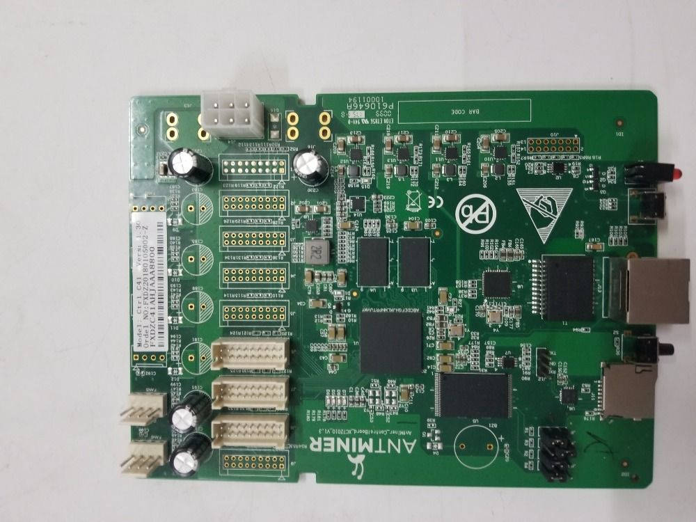 free shipping Antminer S9 control board,bitcoin miner Parts, antminer S9 Repair parts.For ANTMINER S9 S9i 14T 13.5T 13T 12T