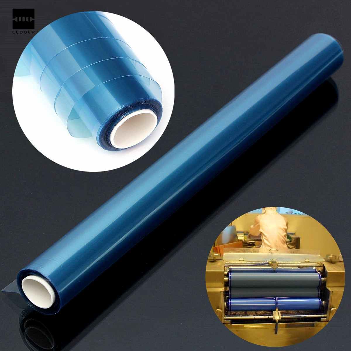 PCB Hot Sale Portable Photosensitive Dry Film for Circuit Production Photoresist Sheets 30cm x 5m Electronic Components