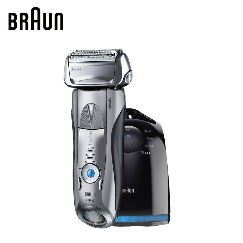 Braun Electric Shaver 7865CC For Men Rechargeable Safety Razor Series 7 Reciprocating Shaving Straight Razor Shaving Machine