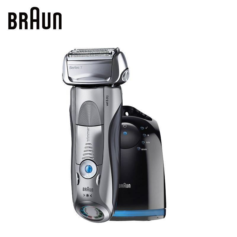 Braun Elektrorasierer 7865CC Für Männer Wiederaufladbare Rasierapparat Serie 7 Kolben Rasieren Rasiermesser Rasieren Maschine