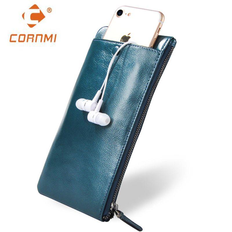 Men Women Wallets Genuine Leather Purse Bag Universal Carteira For iphone 7 7 <font><b>Plus</b></font> 5 SE 6 6S <font><b>Plus</b></font> Case For Samsung J5 S6 S7 Edge