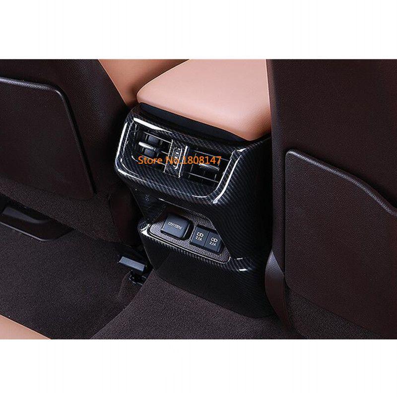Für lexus es es200 es250 es300h es350 2018 2019 auto armlehne trim sitz hinten zurück auf den kopf klimaanlage Outlet Vent rahmen lampe