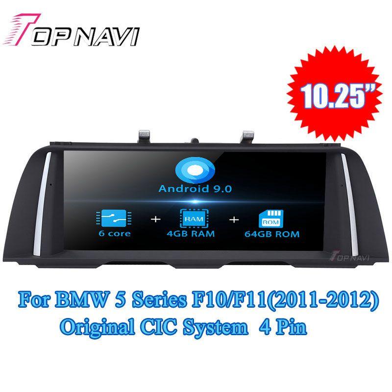 Topnavi Android 9.0 Auto Radio Auto Player Für BMW 5 Series F10/F11 (2011-2012) 5 serie F10/F11 (2013-2016) GPS Navigation KEIN DVD