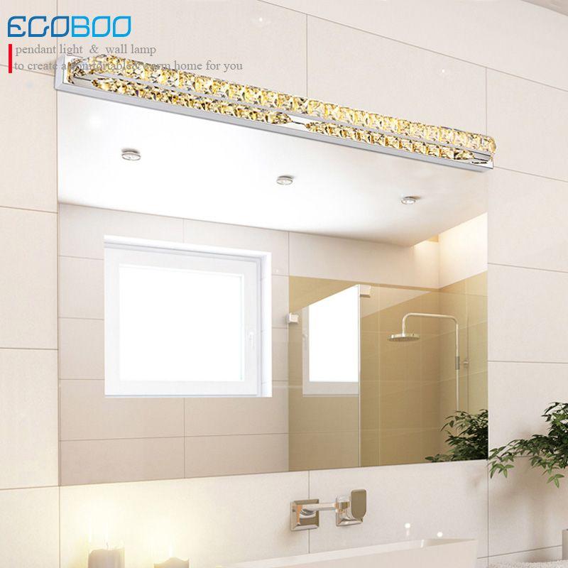EGOBOO BELEUCHTUNG 26 Watt super lange 100 cm led-lampe 220 v für bad transparent spiegel leuchten Champagne & schreiben kristall