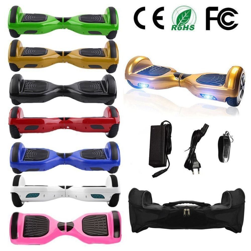 Hoverboards Portable Boys Girls Cool Smart Electric Self Balancing Scooter Hover Board Balance 2 Wheels Standing Scooter