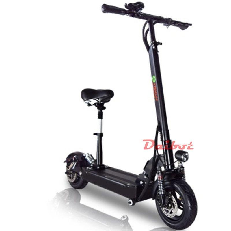 800 Watt Leistungsstarke Elektroroller Skateboard 10 Zoll E-Roller Offroad Hoverboard mit Sitz Fernbedienung für Erwachsene