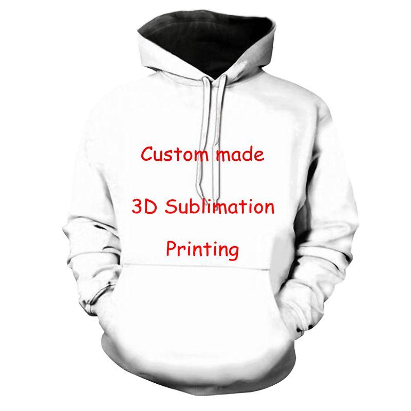 3D Print DIY Custom Design Mens Womens Clothing Hip Hop Sweatshirt Hoodies Wholesale Suppliers For Dropship large size XS-7XL