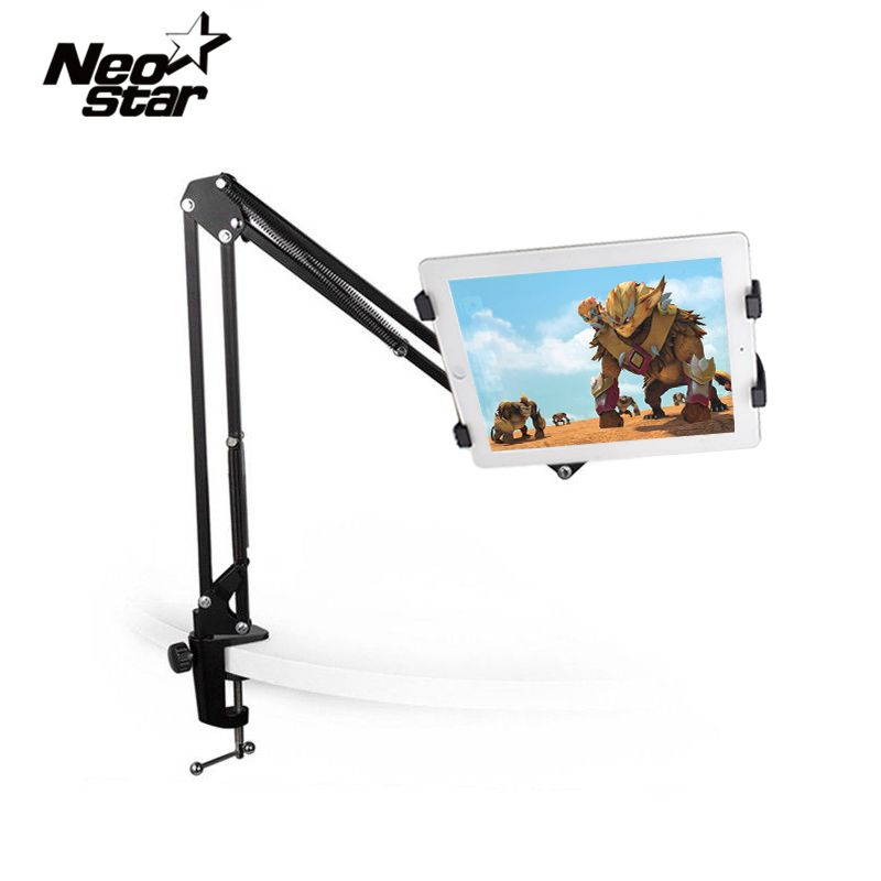 Universal Tablet Stand Holder For Ipad 2 3 4 Air Mini For Samsung Lenovo Lazy Bed <font><b>Desk</b></font> Mount For 6-11 Inch Tablet PC