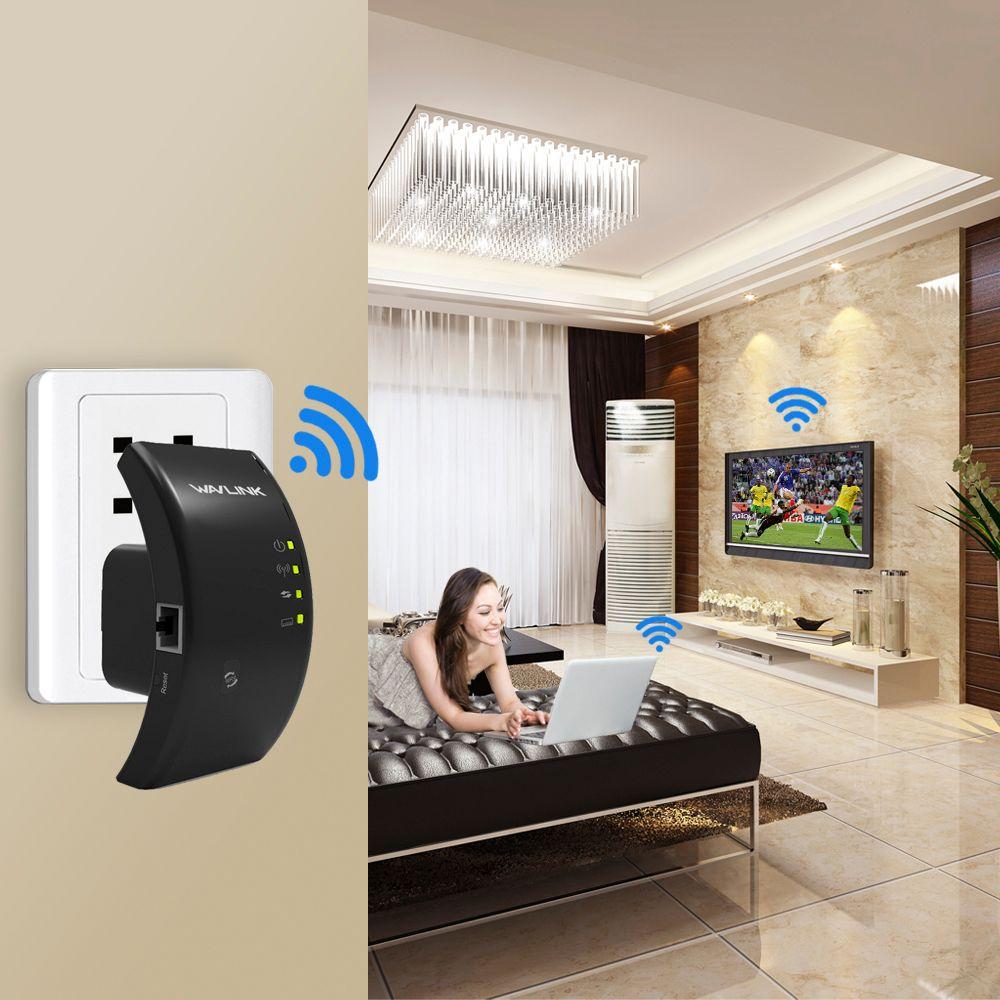 WAVLINK Original Wireless Wi-Fi Repeater 300Mbps WIFI WLAN Range Extender wifi Signal Amplifier <font><b>Booster</b></font> 802.11n/b/g WPS TRAVELS