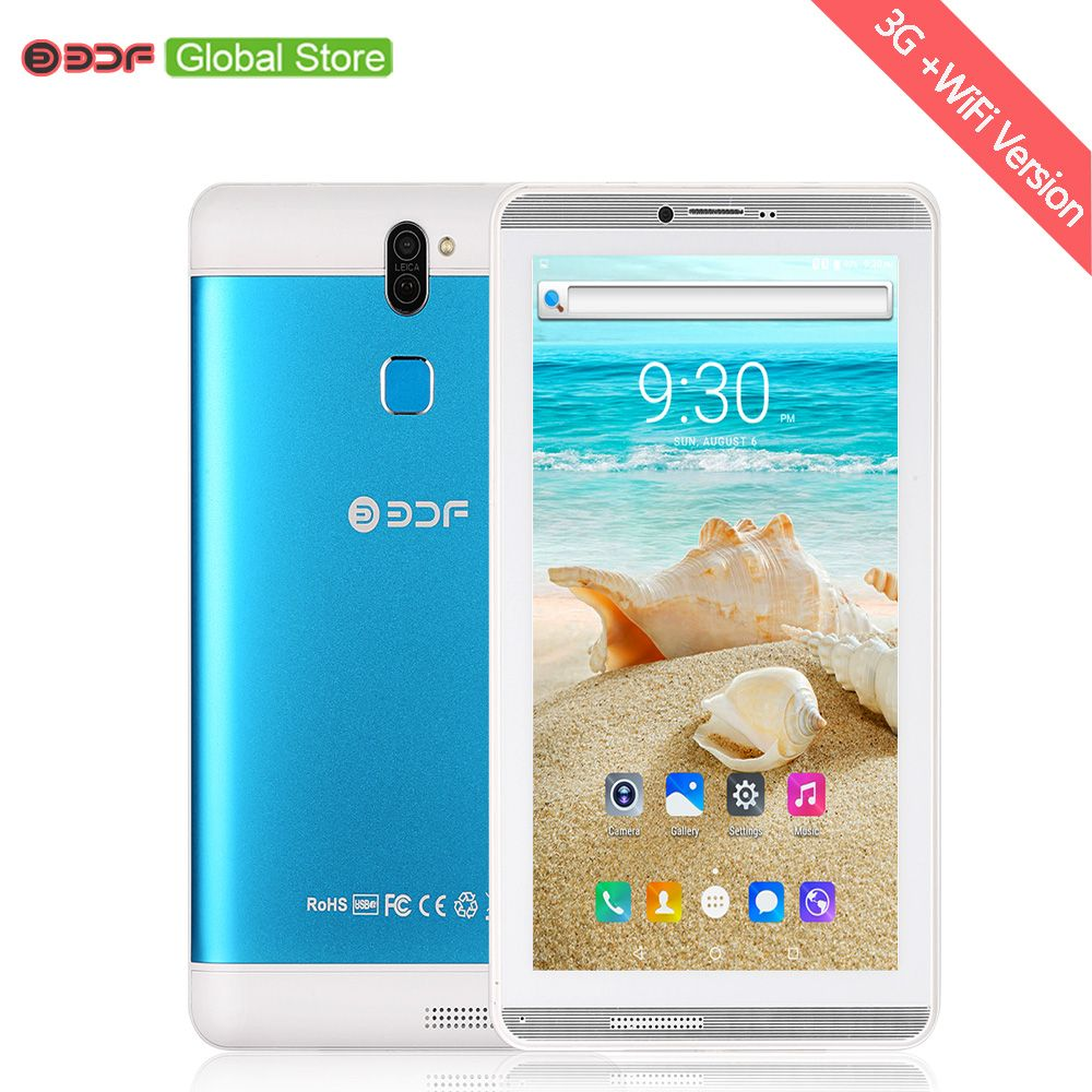 7 Inch Tablet Pc Support Mobile Phone Call Android 6.0 Tablets Pc Bluetooth 1GB+16GB Mini Pad SIM Card phone Sim Card
