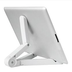 Nueva plegable Universal Phone Tablet Holder ajustable escritorio soporte trípode estabilidad para iPhone iPad tabla Pad