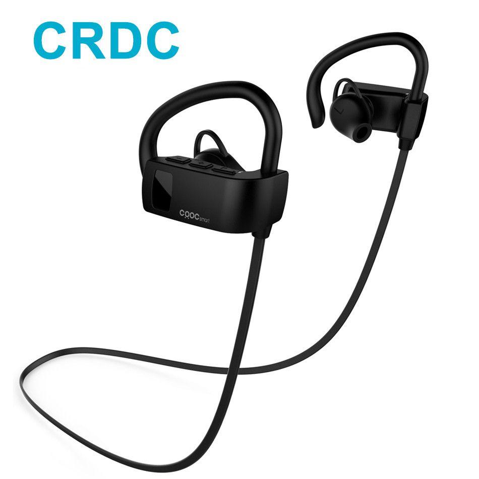 CRDC Bluetooth casque 4.1 sans fil écouteur casque Bluetooth écouteur Sport en cours d'exécution stéréo écouteurs avec Micr pour Xiaomi HTC