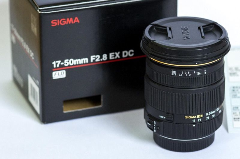 Genuine Sigma 17-50mm F2.8 EX DC OS HSM Lens For Canon