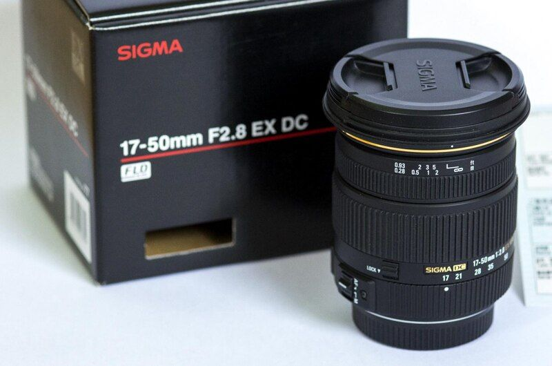 Genuine Sigma 17-50mm F2.8 EX DC OS HSM Lens For Canon