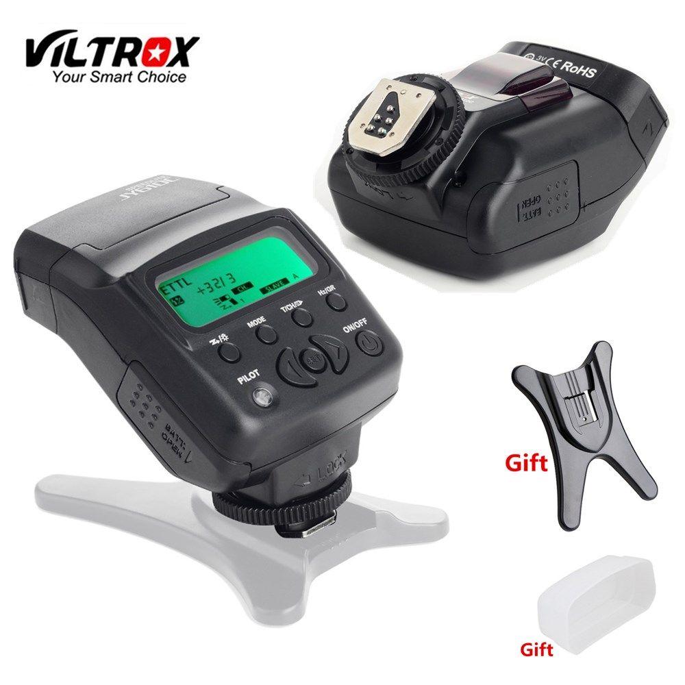 Viltrox JY-610C E-TTL Speedlite caméra Flash + diffuseur + support Flash pour Canon 1300D 1200D 760D 800D 650D 77D 80D 5 DMark IV 7DII