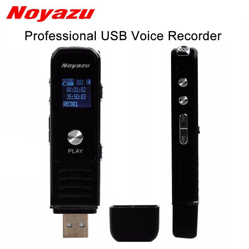 Noyazu 905 professionnel Mini USB numérique enregistreur vocal Rechargeable Dictaphone lecteur MP3 WAV enregistrement stylo